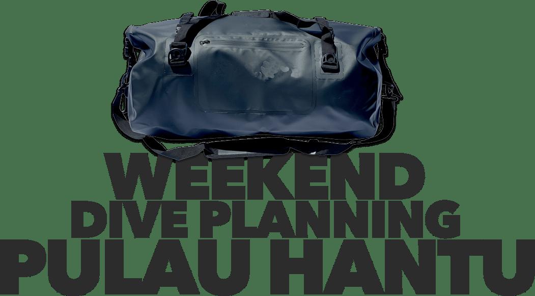 Pulau Hantu Weekend Diving Singapore