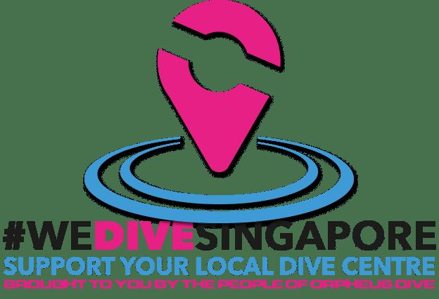 we dive singapore campaign support singapore dive centre