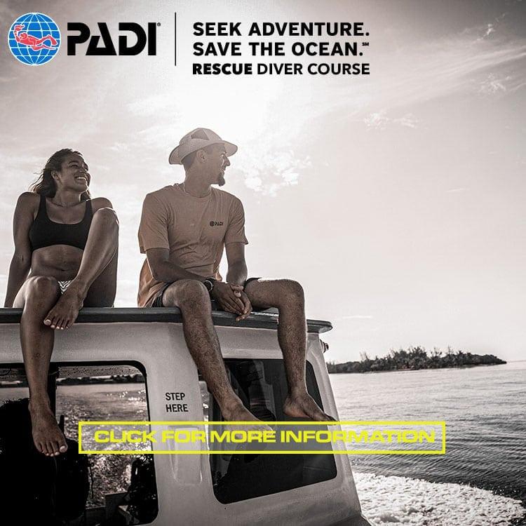 PADI Rescue Diver Course SINGAPORE PULAU HANTU